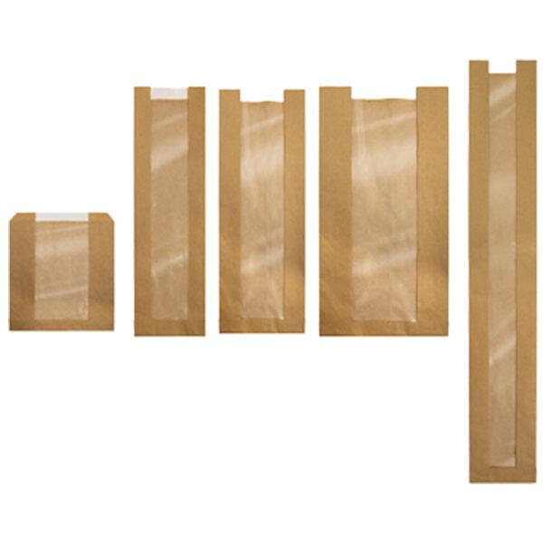 transparent paper bags