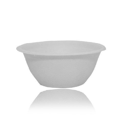 Bagasse240ml round bowl 1