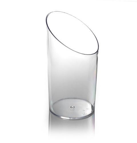 VASCELLO TILT SHOT GLASS - CLEAR (20)
