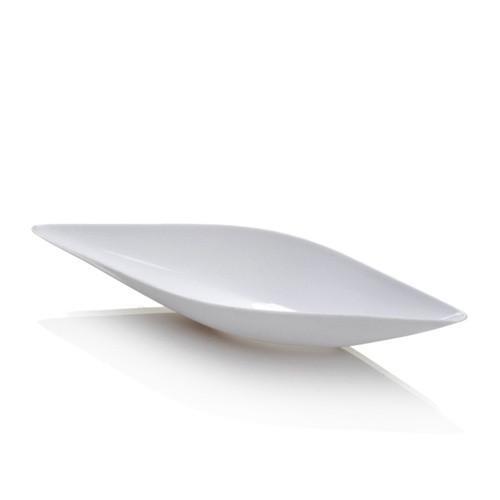 VASCELLO CANOE DISH - WHITE (24)